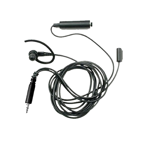 Motorola Black 3 Wire Earpiece With Seperate Mic And Ptt